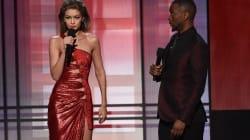 Gigi Hadid Breaks Out Brutal Melania Trump Impression At The
