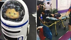 'Little Chubby' Robot Goes Rogue; 1 Injured In Bizarre