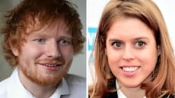 Headline Of The Year: 'Princess Beatrice Cut Ed Sheeran's Face With Sword While Attempting To Knight James