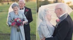70 años juntos y por fin lograron tener las fotos del día de su