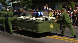 El vehículo con las cenizas de Fidel Castro se descompone durante la