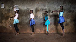 Striking Photos Of The Ballet Program Bringing Strength To One Of Africa's Biggest