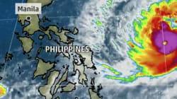 Thousands Flee Coastal Villages As Typhoon Nock-Ten Nears