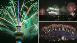 The World Is Welcoming 2017 In Spectacular