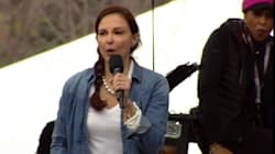 Ashley Judd Fires Up Women's March With Stirring 'Nasty Woman'