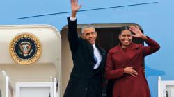 EN FOTOS: El escape vacacional de los Obama a una isla