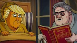 Cartoon Donald Trump's Bedtime Routine May Give You