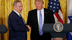 Trump Abandons Commitment To 2-State Solution In Press Conference With