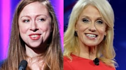 Chelsea Clinton And Kellyanne Conway Share Unlikely Friendly Moment On