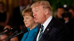 Angela Merkel Gave An Impassioned Plea For Refugees. Trump Ignored