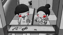 Estas ilustraciones muestran que el verdadero amor está en las pequeñas