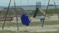 'Haunted swing' Forces Terrified Family From