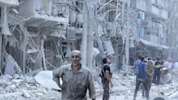 Video Shows Horror Of Life Under Barrel Bombs In