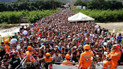 Thousands Of Venezuelans Cross Into Colombia In Search Of Food And
