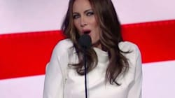 Fake Melania Trump Offers Hilarious Defense Of RNC Speech On 'Late Show With Stephen