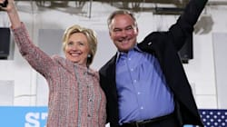 Hillary Clinton Names Tim Kaine As Her Running