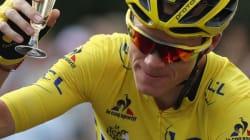 Champagne-Élysées! Froome Celebrates His Third Tour De France
