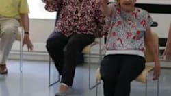 99-Year-Old Fitness Instructor Swears Brandy Keeps Her