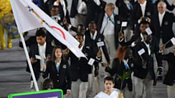 Team Refugees Gets Standing Ovation At Olympics Opening
