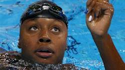 Newspaper Covers Simone Manuel's Historic Gold In Olympically Offensive