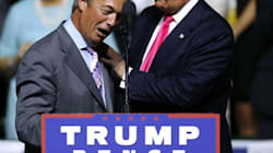 The Sight Of Nigel Farage And Donald Trump Together Is
