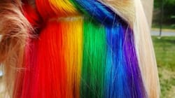 'Hidden Rainbow' Hair Is A Trend You Won't See