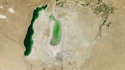 Watch One Of The World's Largest Lakes Shrink Before Your