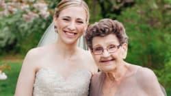 Cuando tu abuela (y dama de honor) se convierte en la protagonista de tu