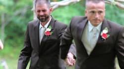 Este padre paró la boda de su hija para que su padrastro la llevara hasta el altar... y todos se