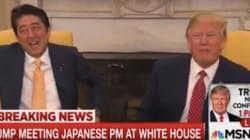 トランプ大統領、安倍首相と握手19秒 たかが握手、されど全てを物語る(動画)