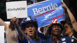 Bernie Backers Boo Hillary At Democratic