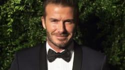 David Beckham se quita, casi toda la ropa, por una buena