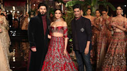 Watch Deepika Padukone And Fawad Khan Steal The Limelight At India Couture