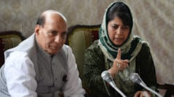 Angry Mehbooba Ends Press Meet With Rajnath