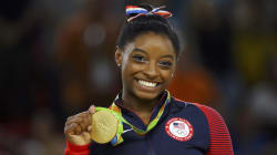 Superstar Simone Biles Wins Her Fourth Gold Medal And Makes