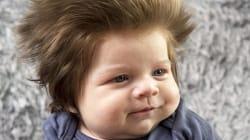 Le bébé à la chevelure de lion vaut le