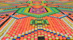 El arte huichol inspira a quienes rompen este récord