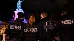 Nouvelles manifestations de policiers place de la République et sur les