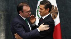 Trump sí llevó a la renuncia de Videgaray, dice