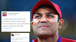 Ravichandran Ashwin's Wife Bowls A Googly To Virender Sehwag's Congratulatory