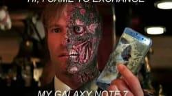 Memes prenden despedida del Samsung Galaxy Note