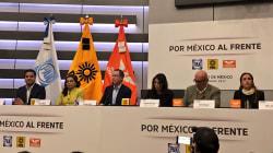 Muere el Frente Ciudadano; registran Por México al