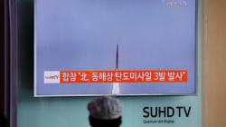 North Korea Fires Three Ballistic Missiles As G20 Leaders Meet In