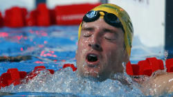 Australia Finishes Third In 4 x 100m Freestyle