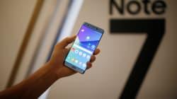 Samsung demande d'éteindre les Galaxy Note 7 et ordonne l'arrêt total des