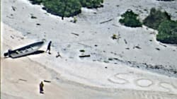 Men Stranded On Desert Island Saved By 'SOS' Message In