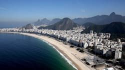 Your First Look At Rio's Stunning Olympic Beach Volleyball