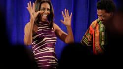 Los 5 momentos memorables de Michelle Obama en