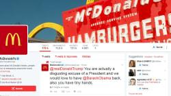 Piraté, un compte de McDonald's se moque de Trump et de ses