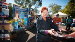 Pauline Hanson's First Press Conference As A Senator Was